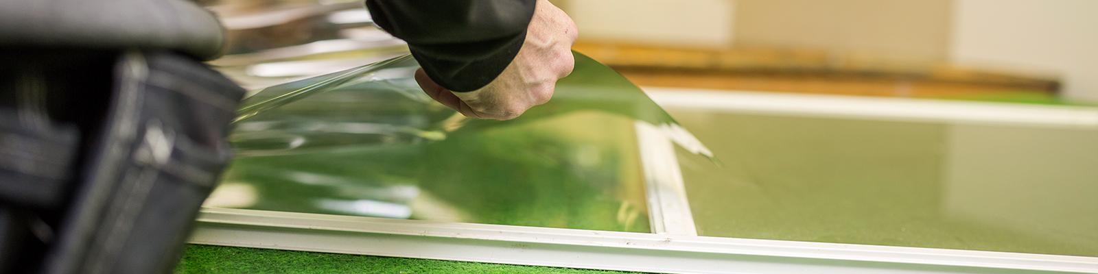 Fönsterbyte av glasmästare